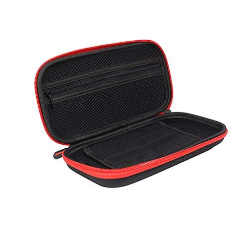 Einfache Schwarze Eva-Hartschalentasche für die NS Switch Lite-Konsole Switch Lite Host tragbare Aufbewahrungstasche Switch Mini Host Schutz Hardbag Aufbewahrungsbox (A)