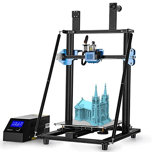 DBKJ Official Creality CR-10 V3 3D Printer With Equipped With 350W Well-known Power Supply, Silent Mainboard, Tempered Carborundum Glass Plate, Large Print Size 300x300x340mm,and All Metal Extruder