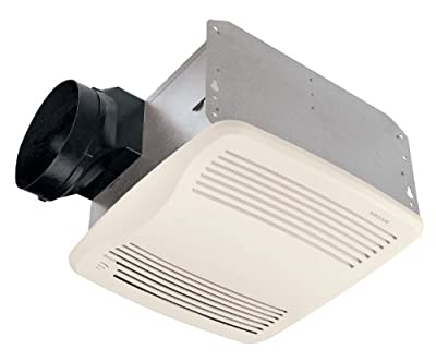 Broan-Nutone QTXE110S Ultra-Silent Humidity-Sensing Ventilation Fan, Exhaust Fan for Bathroom and Home, ENERGY STAR Certified, 0.7 Sones, 110 CFM