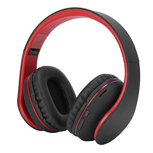 Cosiki Auriculares Bluetooth Auriculares inalámbricos Material ABS Diseño Plegable Larga Vida útil Fácil de Llevar para el hogar Tableta Teléfono móvil al Aire Libre