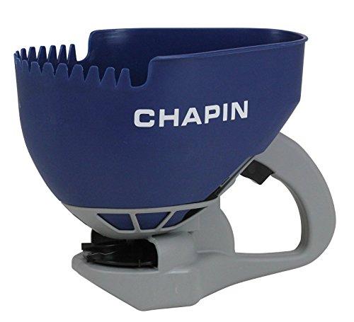 Chapin 8705A 1.6L/.4 Gal Crank (1 Package) Hand Salt Spreader, 3 -Liter, Blue