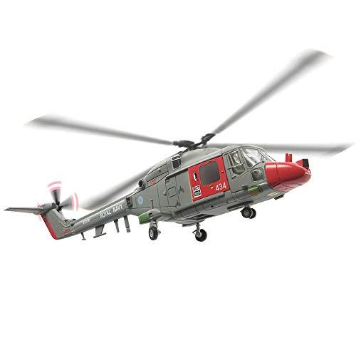 EP-Toy 1/72 Scala Militare Westland Lynx Helicopterr RAF Alloy Model, Adulto Regalo E da Collezione, 7.9Inch X 7.9Inch