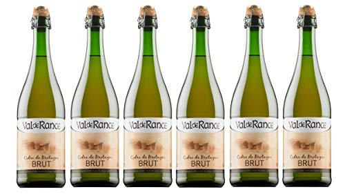 Val de Rance Cidre de Bretagne Brut Apfelwein aus Frankreich 6 x 0,75 Liter