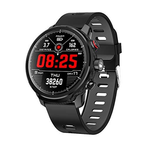 QIMAOO Smartwatch, Orologio Fitness Uomo Donna Cardiofrequenzimetro da Polso Fitness Tracker IP68 Smart Watch Cronometro per Android iOS Samsung Huawei Xiaomi