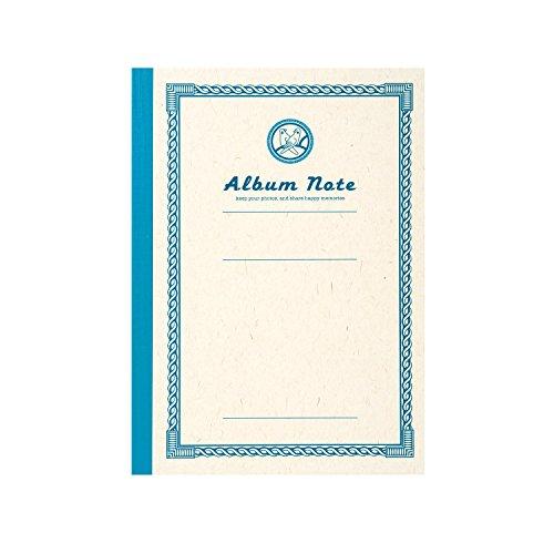 SEKISEI Album kostenlos Fotoalbum Aktie Notizen A5-Format 10 Seiten 1 bis 10 Seiten hellblau GPN-01