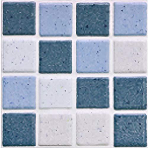 DDDD store Pegatinas de Azulejos autoadhesivos, Decorativos Adhesivos para Azulejos Pegatina de Pared, Impermeable Azulejos de Gel, Diseño de Mosaico con Motivo, para Baño y Cocina,19 Pcs (10 * 10cm)