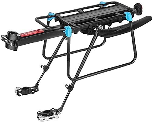 Bedroom Montaña Bike Carrier Rack 50kg Capacidad Cojinetes Sólidos Universal Ajustable Bicicleta Equipaje Equipaje Equipo De Ciclismo Soporte
