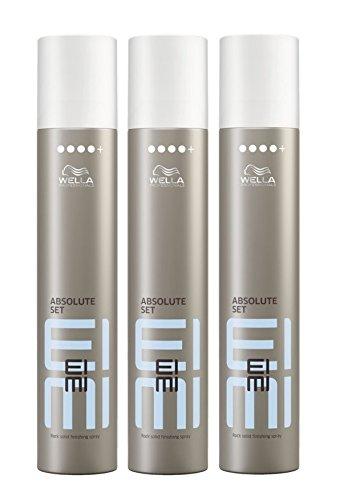 Wella EIMI Absolute Set Haarlack ultra stark 3 x 300 ml Styling Fixing Hairspray Finishing Spray Professionals