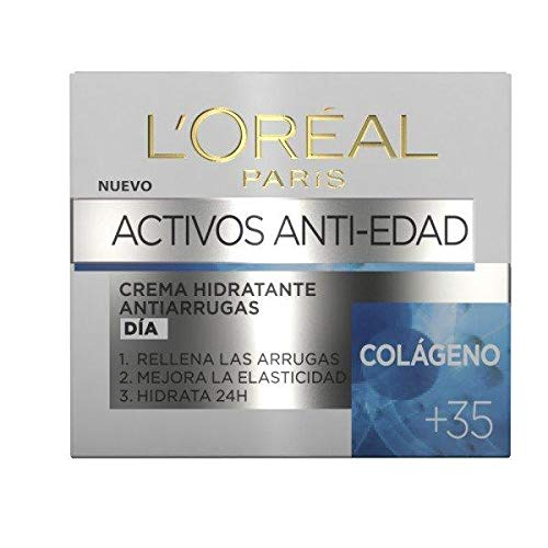 L'Oreal Paris Active Antirrugas Colágeno - Crema hidratante