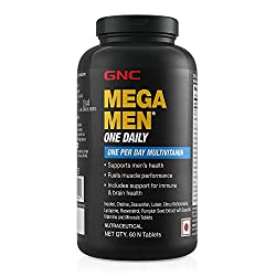 GNC Mega Men One Daily Multivitamin Best Multivitamin For Men