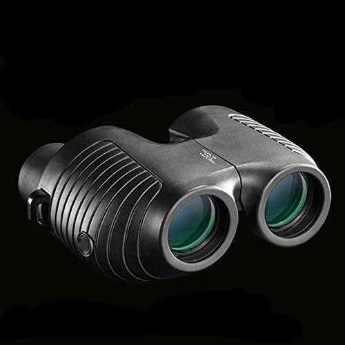 YASEking Telescopio 10X25 prismáticos de Enfoque automático de Alta definición HD Binocular Concierto Bola telescopio Senderismo HD potentes prismáticos,