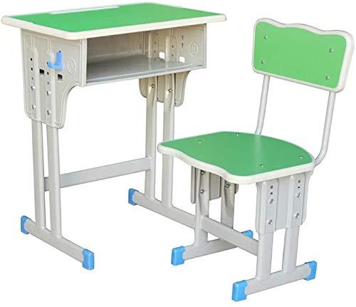 Juego de Escritorio y Silla de Estudio para Niños Los niños escritorio y Juego de sillas con altura ajustable Escuela de estación de trabajo ergonómica de los niños, con gaveta de almacenamiento durad
