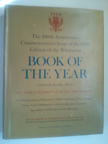 Britannica Book of the Year 1969: Events of 1968. [Encyclopaedia; Encyclopaedia; Encyclopedia]