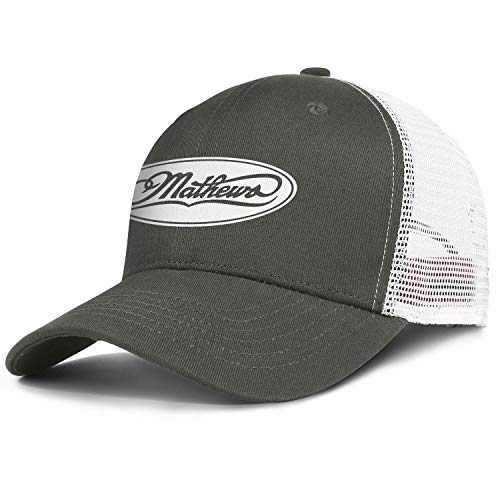 Women's Men's Baseball Cap Fashion Adult Mathews-Archery-Compound-Bow-Lancaster- Adjustable Truck Cap Cowboy Hat