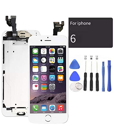 Best Replacement Screen for Iphone 6 Plus White With Home Buttons