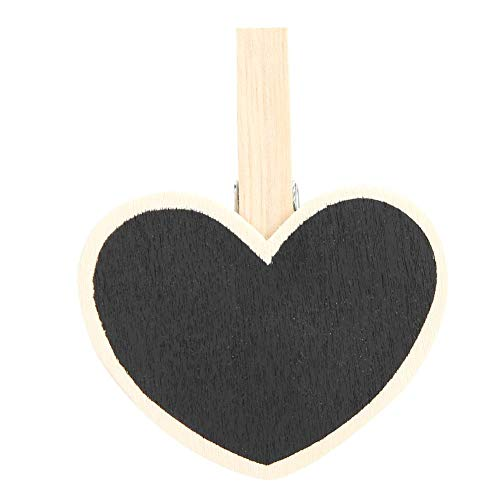 50 stuks Mini Blackboard clips message board dag signs hout mini Chalkboard clips voor planten Memo Note Taking Food Label Party MEERWEG AANBIEDING