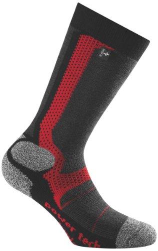 Rohner Power Tech Chaussettes de Ski pour Enfant Rouge vulkan 31-34
