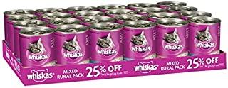 WHISKAS Rural Mix 400G 24'S (W5343)