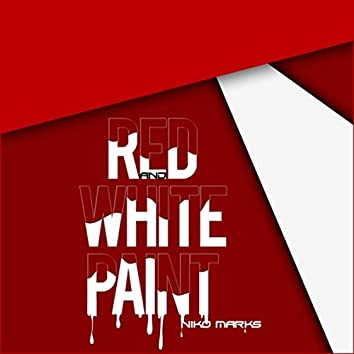 Red and White Paint