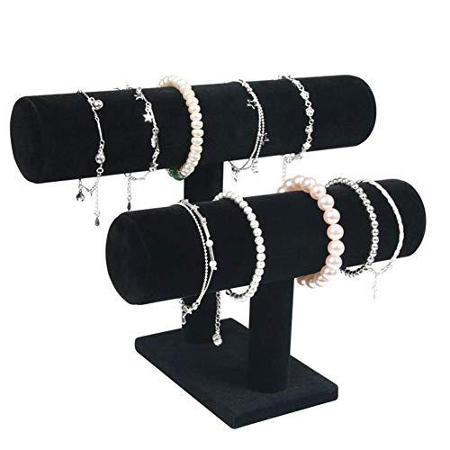Soporte para joyería Soporte para reloj Exhibición de joyería Soporte para scrunchie Soporte para collar Organizador de joyería Almacenamiento de joyería Soporte para scrunchie Soporte para collar