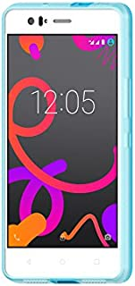 BQ M5.5 Blue Gummy - Funda para Aquaris M2017/M5.5, color azul