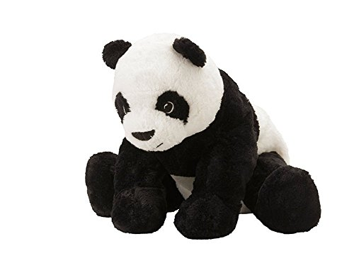"""IKEA Stofftier """"Kramig Panda"""" Plüschtier Panda-BÄR - 30cm großer Teddybär - sehr kuschelig - waschbar - SICHERHEITSGETESTET - für Kinder jeglichen Alters"""