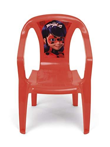 Arditex lb11877 – Chaise en plastique monoblock motif lady bug