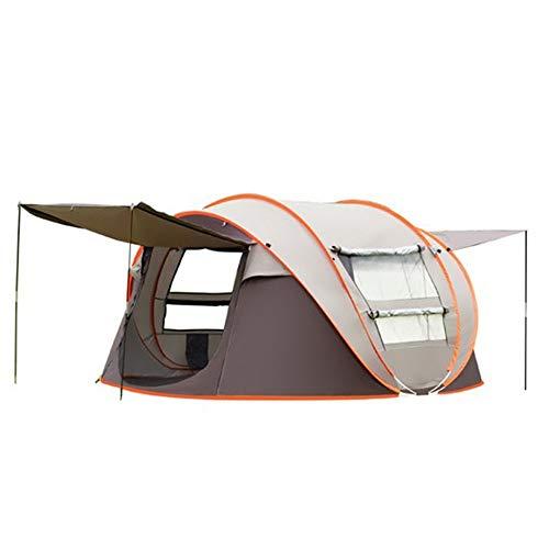Tienda de campaña Carpa Mano-lanzado Carpa Libres de Establecer de Apertura rápida Carpa Camping al Aire Libre 3-4 Personas automática Campo Camping Cuenta Barco a Prueba de Lluvia para el Aire Libre