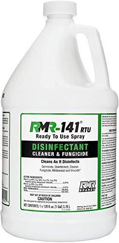 RMR-141 Disinfectant and Cleaner, Kills 99% of Household Bacteria and Viruses, Fungicide Kills Mold & Mildew, EPA Registered, 1 Gallon Bottle