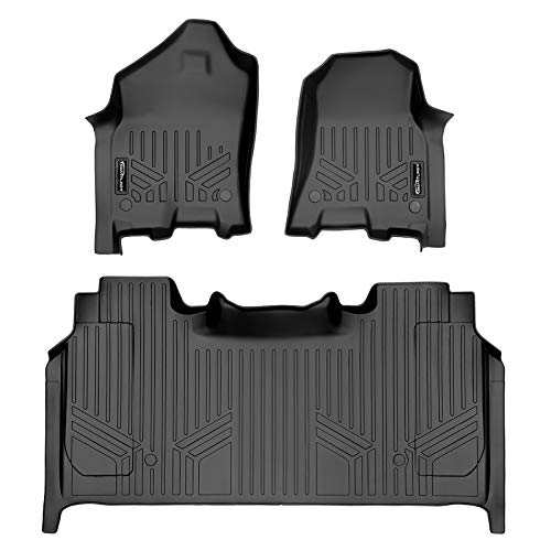 MAX LINER A0369/B0374 for 2019-2021 Ram 1500 Crew Cab with Rear Underseat Storage Box, Black
