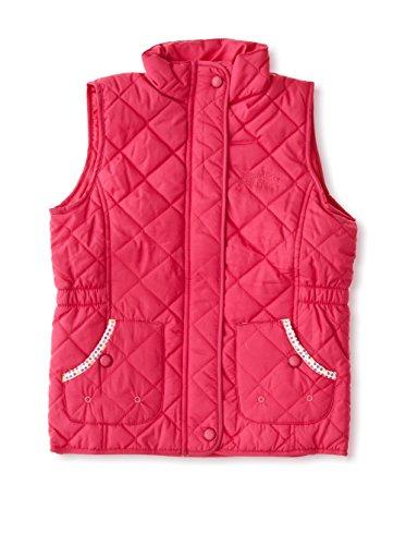 Regatta Chicas Jo Jo Repelente al Agua Bodywarmer Gilet, Niñas, Color Rosa, tamaño 3-4 Años (EU 104 cm)