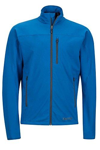 Marmot Tempo Men's Softshell Jacket, Blue Sapphire, Small