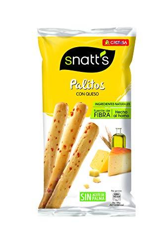 Snatt\'s Grefusa Palitos de Cereales con Queso, 56g