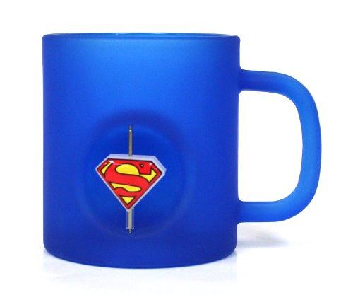 DC Comics - Taza de cristal con emblema...