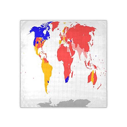 cuadro mapa mundo de la marca UNIIK