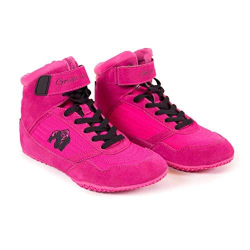 Gorilla Wear High Tops Black pink - Bodybuilding und Fitness Schuhe für Damen, 38