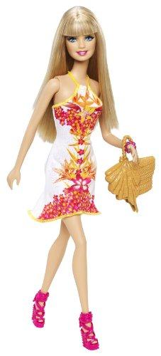 Barbie Fashionista Barbie Doll, White Floral Dress