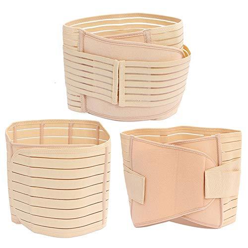 Ponacat 3St Kroppsformande Korsbälte Shapewear Postpartum Body Shaper Formande Bäckenbälte