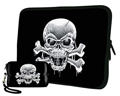 Luxburg 15 Zoll Luxuriöse Tasche für Laptop/Tablet Plus, Schutzhülle für Kamera Acer Asus Chromebook Dell HP Lenovo Samsung Sony Toshiba