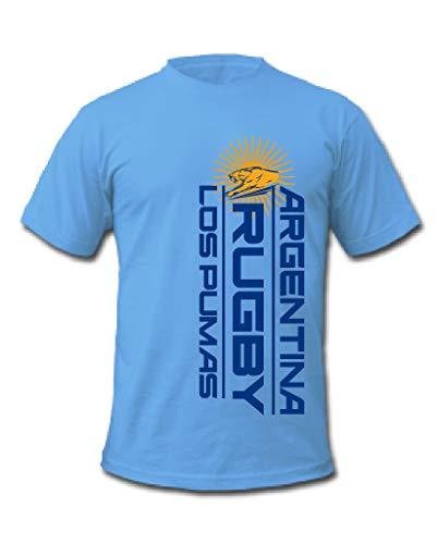 Argentinien Rugby Los Pumas T-Shirt Gr. L, blau