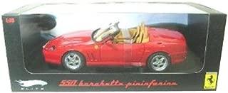 Hot wheels N2054 Ferrari 550 Barchetta Pininfarina Red Elite Edition 1/18 Diecast Model Car by Hotwheels