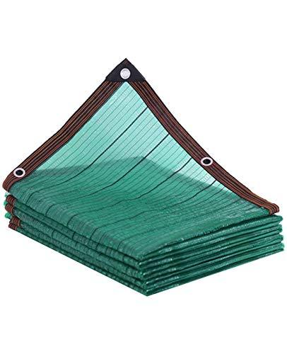 XY&CF Toldo de Sombra Toldo Parasol Camping,Malla Sombreo,con Ojales,Vela Rectangular,Sombra UV,Prueba Polvo,Invernadero Transpirable,Patio,Red para Césped,Terraza Red de Sombreado