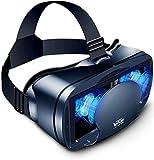 Snnim [Nuevo] 3D VR Gafas de Realidad Virtual, Disfruta de los Mejores Juegos y Videos, Compatible 5 Inch - 7 Inch Pulgadas Smartphone Amplia compatibilidad por Android/iOS