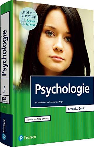 "Psychologie mit E-Learning \""MyLab | Psychologie\"" (Pearson Studium - Psychologie)"