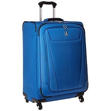 Travelpro Luggage Maxlite 5 25  Lightweight Expandable Spinner Suitcase, Azure Blue