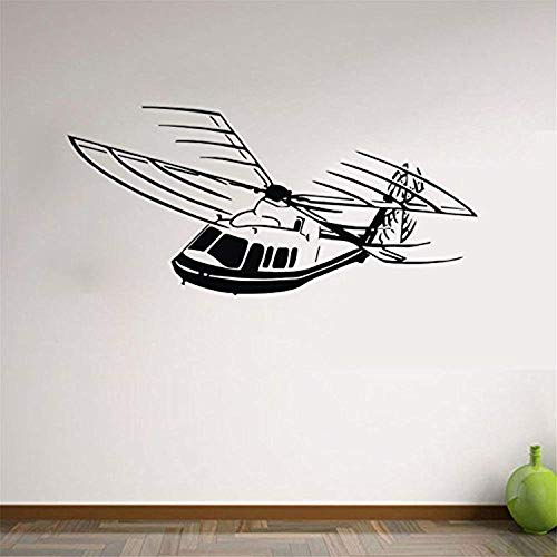 Wall Vinyl Decal Home Decor - Art Sticker Lettering Words Airplane Bedroom Nursery Kids - Home Room Removable Mural HDS11200