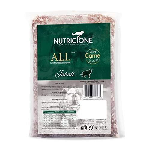 Nutricione Barf Carne de jabalí 9 Kg congelada (9 Paquetes de 1Kg)