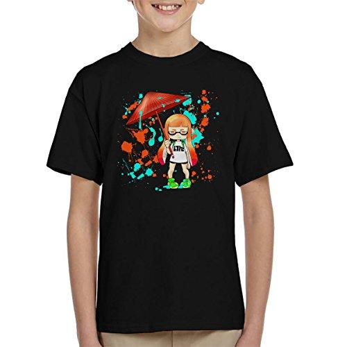Ink War Inkling Splatoon Kid's T-Shirt