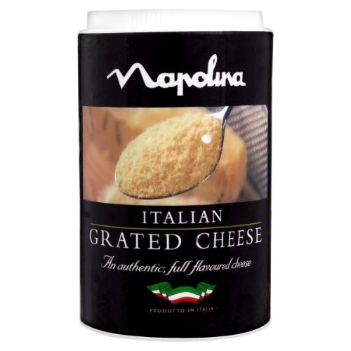 Napolina Italian Grated Cheese 50g (Pack of 12 x 50g)