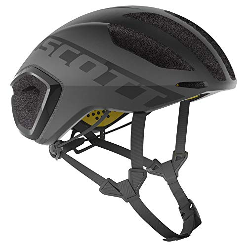 Scott 275183 - Casco de Bicicleta Unisex para Adulto, Color Negro, Talla...